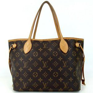 Auth Louis Vuitton Neverfull Pm Shoulder #4146L39